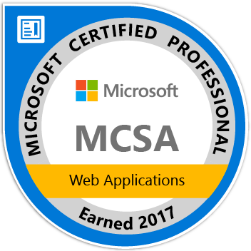Microsoft Certified Associate: Web Applications